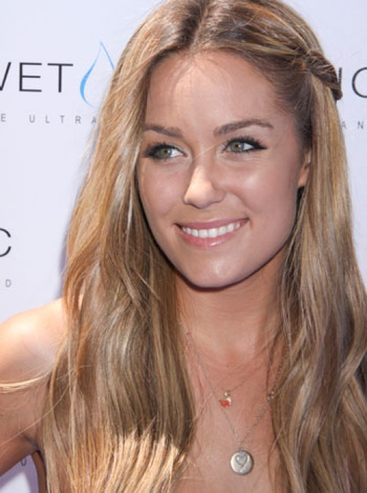 Lauren conrad side braid hairstyle for girls