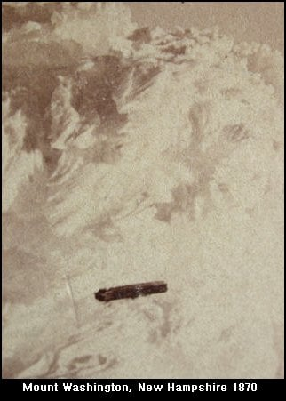 """Taken in 1870, this photo is dubbed, """"the oldest UFO photograph ever taken."""""""