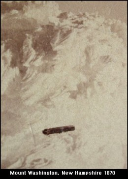 "Taken in 1870, this photo is dubbed, ""the oldest UFO photograph ever taken."""