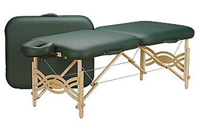 Photo of the Earthlite Spirit Massage Table which I purchased in White