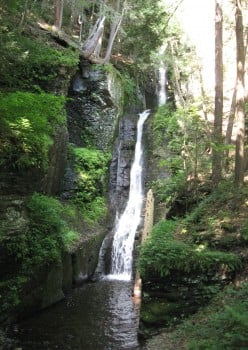Dingmans Falls and Silver Thread Falls (2 Gorgeous Waterfalls)