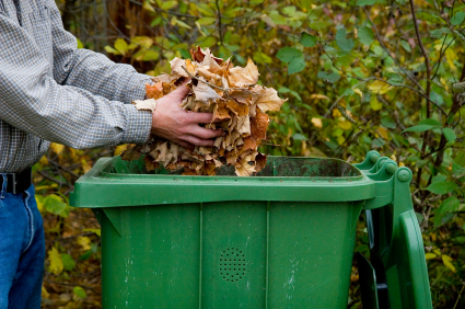 Adding Bedding on your Compost Bin