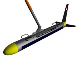 The sidescan sonar fish