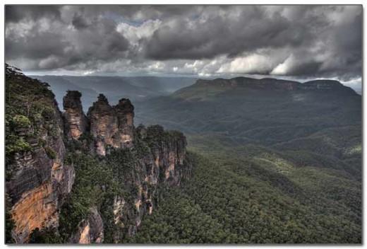 Blue Mountains في استراليا