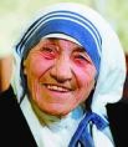 Mother Teresa was a ripplemaker.  She created ripples of love as evident by the expansion of the Missionaries of Charity all over the world.