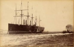 The Great Eastern - Photo taken in the 1870's