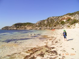 Leaving the Perth holiday island - Rottnest