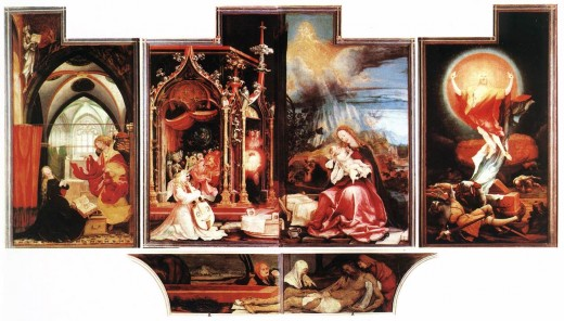 Open Isenheim Altarpiece