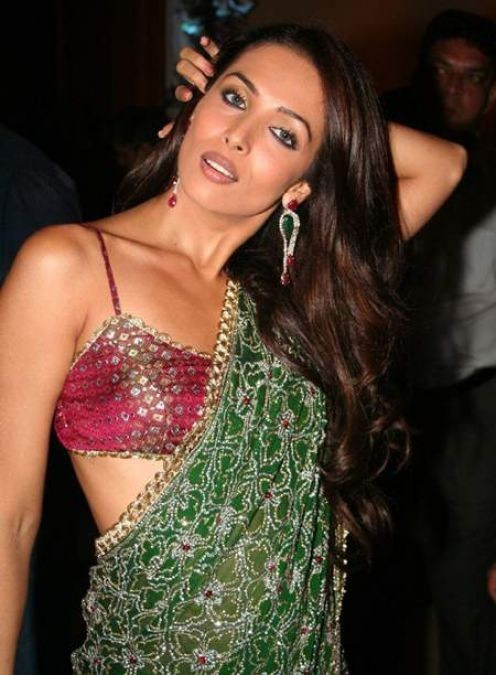 Malaika Arora in Hot Saree