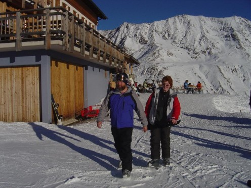 Skiing is massive in the Tyrol winter, small villages become ski resorts