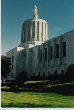 State Capitol, Salem, Oregon.
