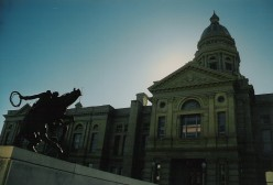Wyoming's state house in Cheyenne.