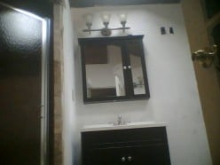 Main Sink before