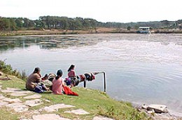 A view of nearby Lake of Shillong.