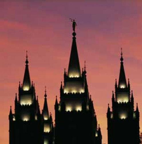 Mormons believe that families can be together forever - when sealed in Holy Houses of the Lord.
