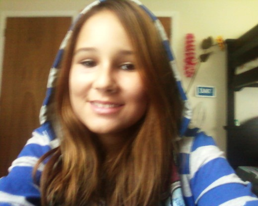my teenage daughter meagan
