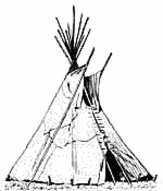 Free Coloring Pages Of Teepee Teepee Coloring Pages