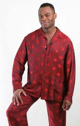 Satin or silk mens pajamas feel great on the skin.
