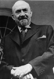 CHAIM WEIZMANN FIRST PRESIDENT OF ISRAEL