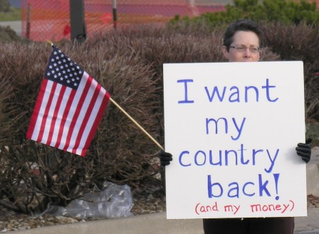 """To Conservatives, It Is An Act Of Patriotism To Destory The Country To Get """"Their"""" Country Back"""