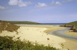 Newquay Beaches, Cornwall: Crantock Beach
