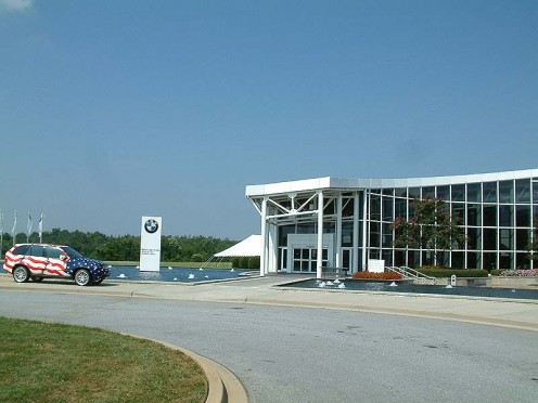 BMW Zentrum, official visitor center, automobile plant, and museum at BMW in Spartanburg.