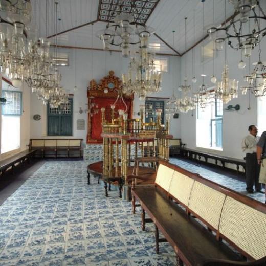 Jewish Sinegogue at Kochin