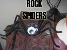 Making Rock Spiders
