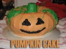 Pumpkin Cake recipe from All Recipes.com