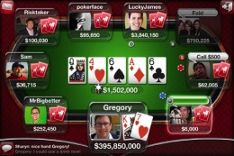 iPhone Live Poker