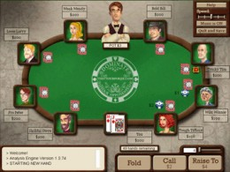Test Your Poker, a Poker Sim