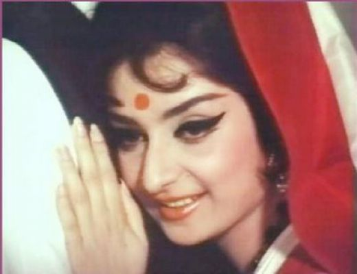 Sira Banu -who was famous as 'beauty queen of 60s, and later married Dilip Kumar