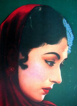 Another photo of Meena kumari-the talent and beauty spoiled herself by innocence