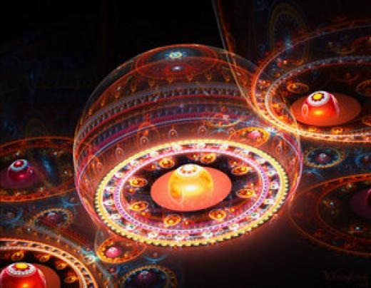 Gears fractal by Chrissy Dean