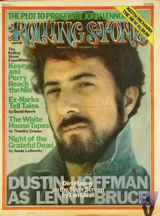 Dustin Hoffman - mustache and beard