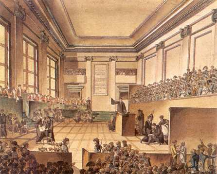 The new courtroom, courtesy of the missionaries (Image source Broderbund CD file)