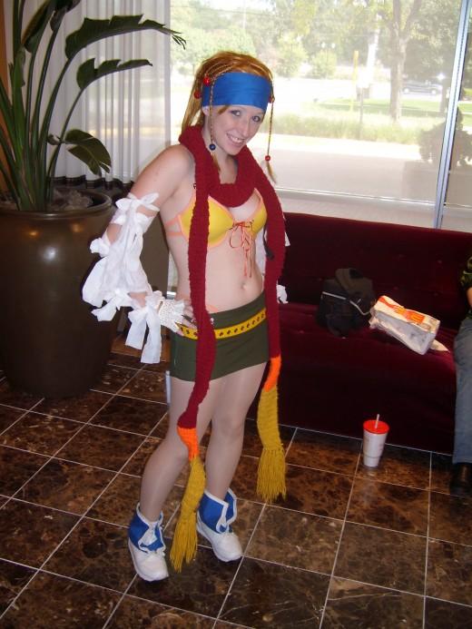 Rikku from Final Fantasy 10
