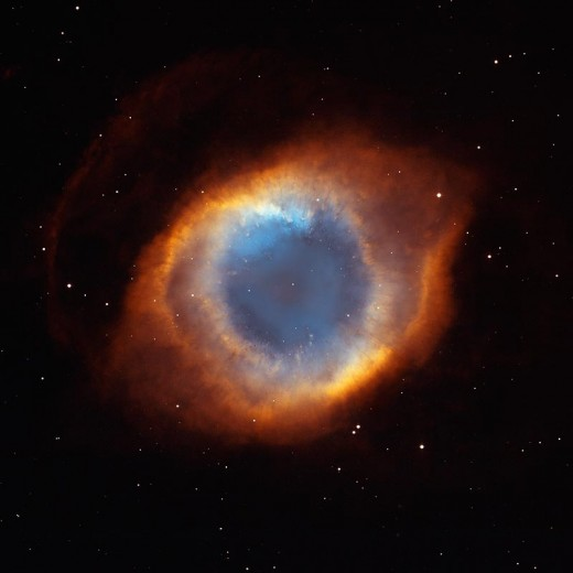 Credit: NASA, NOAO, ESA, the Hubble Helix Nebula Team, M. Meixner (STScl), and T.A. Rector (NRAO)