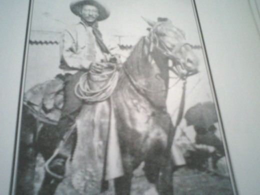 Bill Pickett was the most famous black rodeo rider of all times.