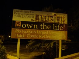 Santa Rita Hotel as part of Tucson's Rio Nuevo Project