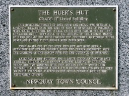 The Huer's Hut, Newquay, a Grade II Listed Building