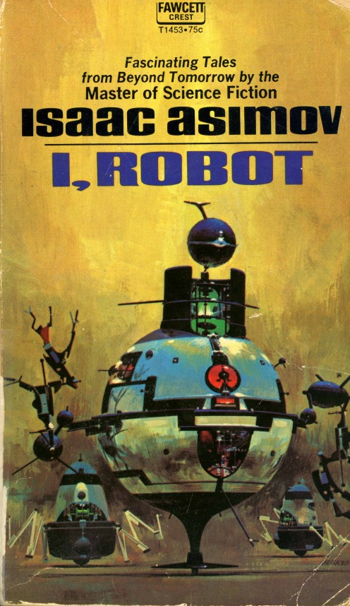 The book that introduced me to the world of science fiction in the 1970s. Note the 75 cent price on the cover and weep.
