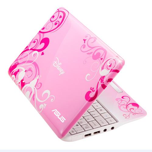Asus Princess Pink Disney Netpal Netbook Computer