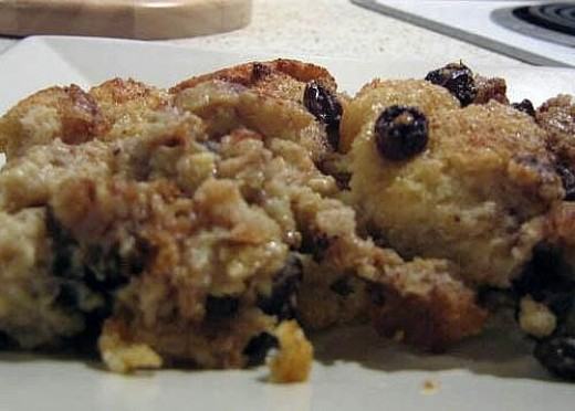 Here is my Grandmothers delicious apple bread pudding. I have served this all over the United States and everyone loves it.