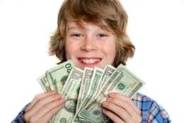 Most kids are keen to earn their own money!