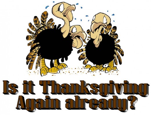 Is it Thanksgiving again already?