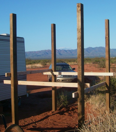 How to build a water tower or outdoor shower truth is for Outdoor shower tower