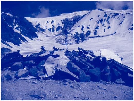 Flight Crash Memorial at Andes