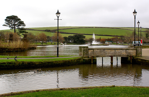 Holiday Activities for Children in Newquay: Trenance Boating Lake, Newquay, Cornwall.