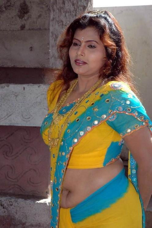 sexy pics of mallu aunty in saree